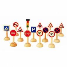 Игровой набор Plan City - Дорожные знаки Plan Toys