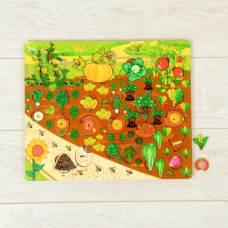 Набор «Овощи на грядке» Нескучные игры