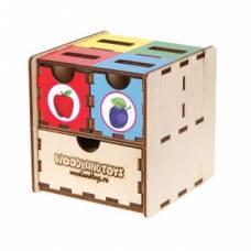 Комодик-куб Фрукты Woodland (Сибирский сувенир)