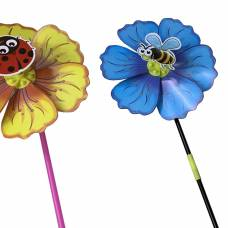 Вертушка Насекомое на цветке, 49 см Наша игрушка