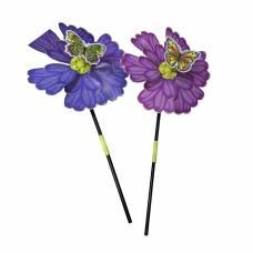 Вертушка Бабочка на цветке, 49 см Наша игрушка