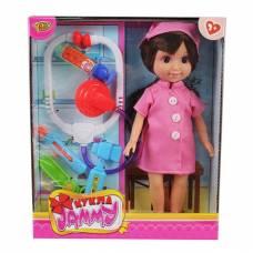 Кукла Jammy с аксессуарами - Доктор, 25 см Yako Toys