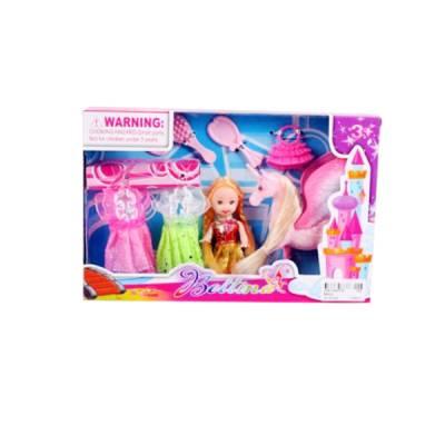 Игровой набор Bellina - Куколка с пегасом