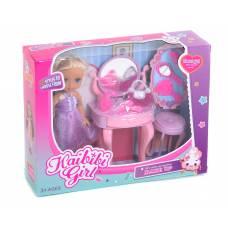Кукла Sweet Girl с туалетным столиком и аксессуарами Kaibibi
