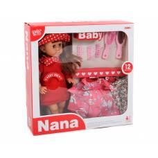 Интерактивная кукла Nana с одеждой (звук) Ledy Toys (куклы)