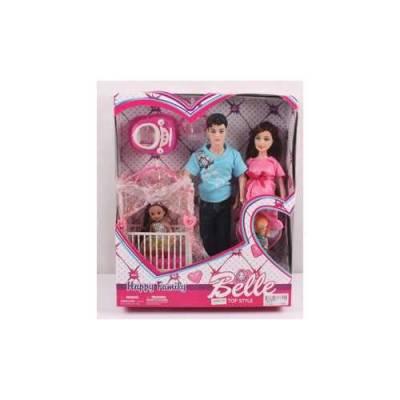Игровой набор Belle - Счастливая семья Shantou
