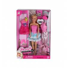 Кукла Beauty c одеждой и аксессуарами, 29 см Yako Toys
