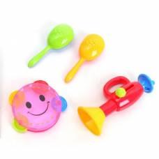 Набор детских музыкальных инструментов MusicSet, 4 предмета