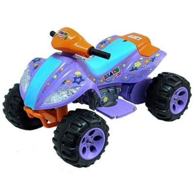 Квадроцикл Joy Automatic Quad (на аккум.), фиолетовый  Kids Cars