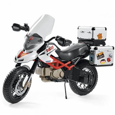 Детский электромотоцикл DUCATI Hypercross (на аккум., звук) Peg Perego