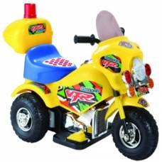 Электромобиль-трицикл VFR, желтый Shantou