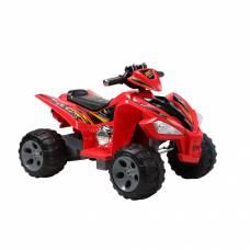 Электрический квадроцикл AMS (аккум.), красный Пламенный мотор
