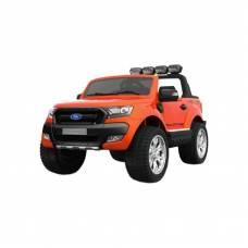 Электромобиль р/у Ford Ranger - Джип (на аккум., свет, звук), оранжевый DAKE