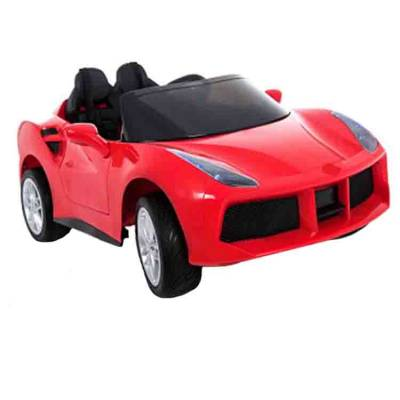 Электромобиль р/у (на аккум., свет, звук), красный  Shenzhen Toys