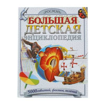 Большая детская энциклопедия «500 событий, фактов, явлений» Росмэн