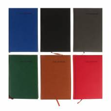 Ежедневник недатированный, формат А5, 140 листов в клетку, обложка ПВХ, «Классика» Yalong