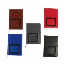 Ежедневник недатированный, формат А5, 140 листов в клетку, обложка ПВХ, с карманом Yalong