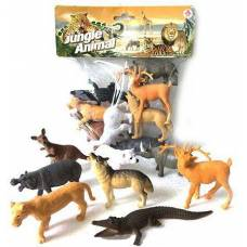 Набор фигурок животных Jungle Animal, 8.5 см Shantou
