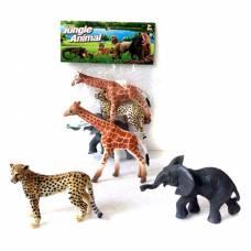 Набор из 3 фигурок Jungle Animal Shantou