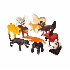 Набор фигурок диких животных Jungle Animal, 12 шт. Shantou
