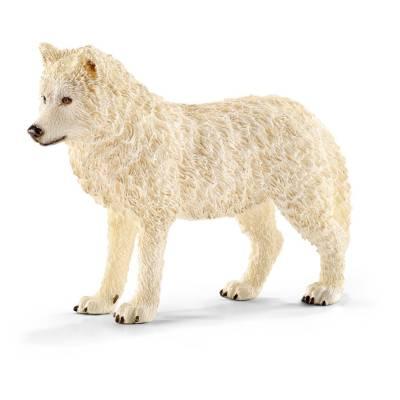 Фигурка Wild Life - Арктический волк, длина 8.8 см Schleich