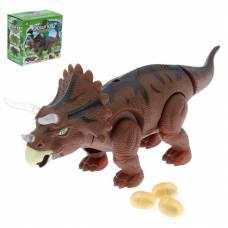 Интерактивная игрушка Dinosaur World - Трицератопс (свет,звук)
