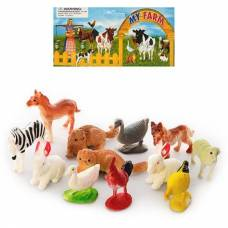 Набор домашних животных My Farm, 12 предметов  Shantou