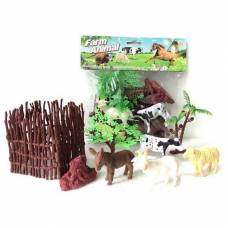 Набор домашних животных с аксессуарами Farm Animal Shantou