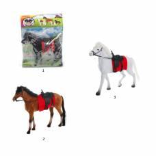 Лошадь с уздечкой и седлом, высота 21 см Bondibon