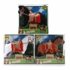 Фигурка лошадки из флока, 14 см Играем Вместе