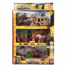 Игровой набор с индейцами The Best Wild West