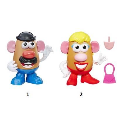 Игровой набор Mr Mrs Potato Head Playskool Friends, 12 деталей Hasbro