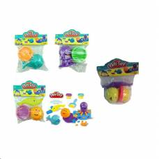 Набор для лепки из пластилина Play Toy - Морской с формочками