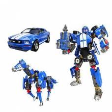 Робот-трансформер 3 в 1 Ford Mustang FR500C, 1:24 Happy Well