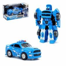 Трансформер «Полицейский», световые и звуковые эффекты Dade Toys