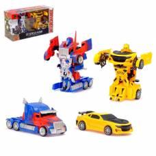 Игровой набор «Трансформеры Автоботы» с инерционным механизмом, 2 шт EDISON