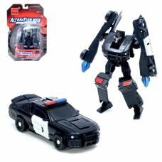Робот-трансформер «Полицейский» Mengbadi