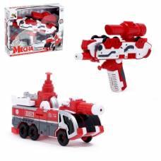 Трансформер-пистолет «Пожарная машина», стреляет водой Dade Toys