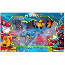 Большой боевой набор Fuzion Max Skyden, Jad Bal Ja, Destraptor, Rydenbolt Toy Plus