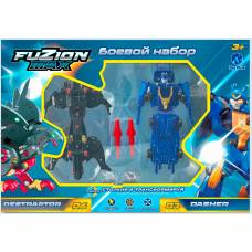 Боевой набор Fuzion Max Destraptor и Dasher Toy Plus