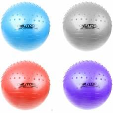 Гимнастический мяч, полумассажный, 55 см ONLITOP