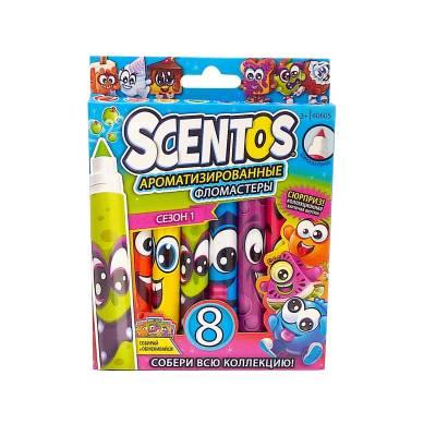 Набор ароматизированных фломастеров Scentos, 8 шт. WeVeel