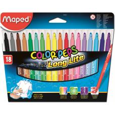 Фломастеры Color'Peps, 18 шт. Maped