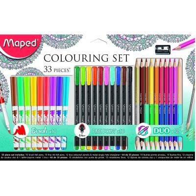 Набор для рисования Color'Peps, 33 предмета Maped