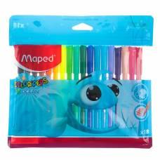 Фломастеры 18 цветов Color'Peps Ocean, смываемые, европодвес Maped