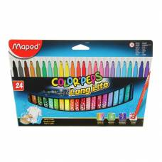 Фломастеры Color Pep's, 24 цвета Maped