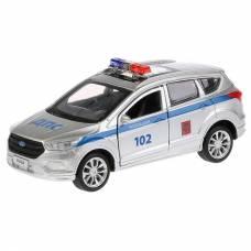 Металлическая машина Ford Kuga - Полиция, 12 см  Технопарк