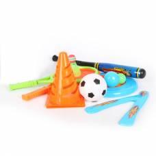 Спортивный игровой набор с бадминтоном и битой, в рюкзаке YG Sport