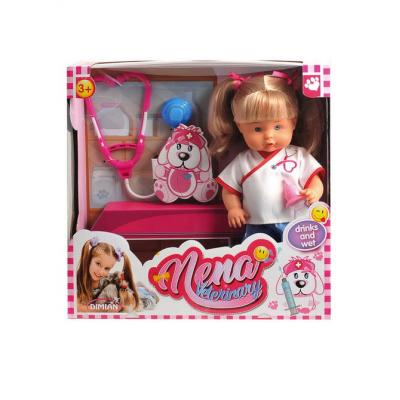 Кукла Baby Nena - Ветеринар (пьет, писает), 36 см Dimian