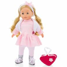 Интерактивная кукла Bambolina - Фигуристка Molly (звук), 40 см Dimian